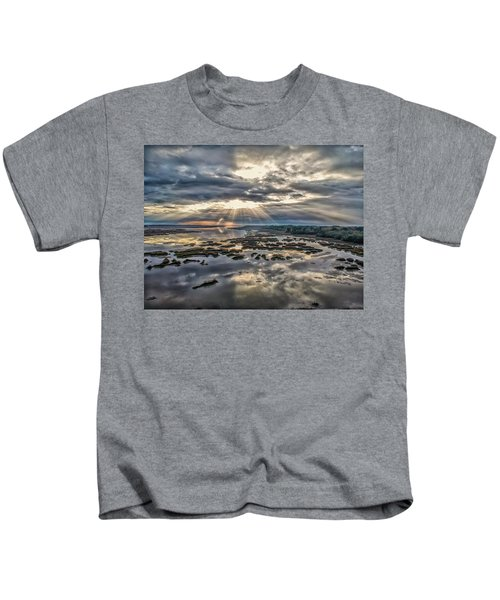 Whale Branch - Angel Rays Kids T-Shirt