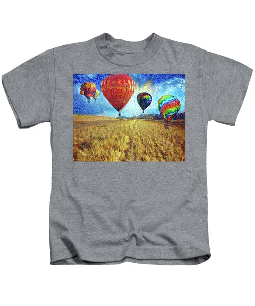 When The Sky Blooms Kids T-Shirt