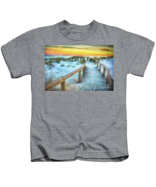 Where The Path Leads Kids T-Shirt