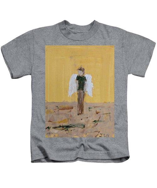 Whistling Angel Kids T-Shirt