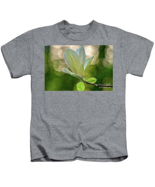White Magnolia Kids T-Shirt