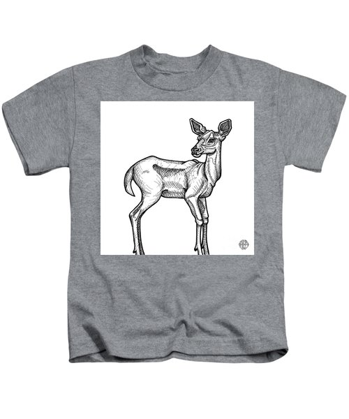 White Tailed Doe Kids T-Shirt