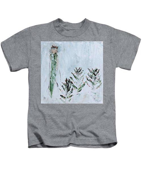 Winter Angel Kids T-Shirt