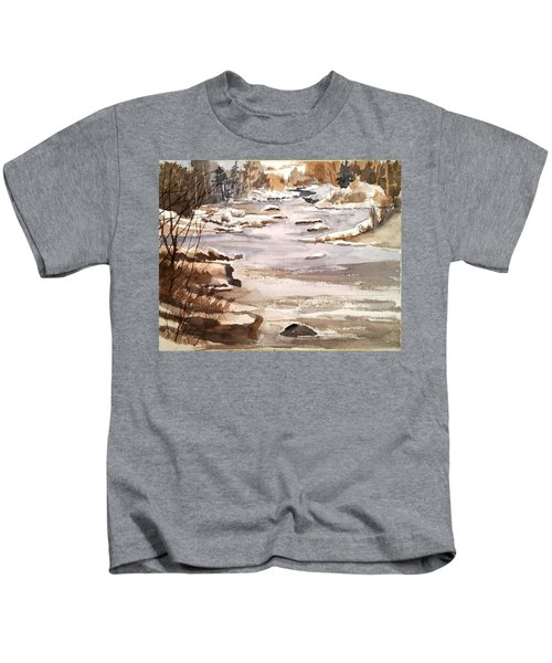 Winters Day Kids T-Shirt