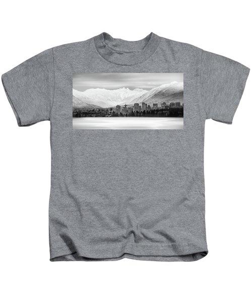 Winterscape Vancouver Kids T-Shirt