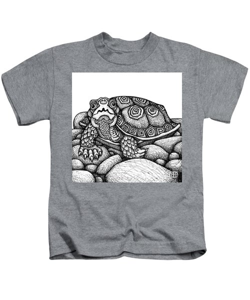 Wood Turtle Kids T-Shirt