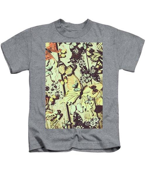 Wooden Spring Kids T-Shirt