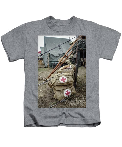 World War II Us Army First Air Camp Kids T-Shirt