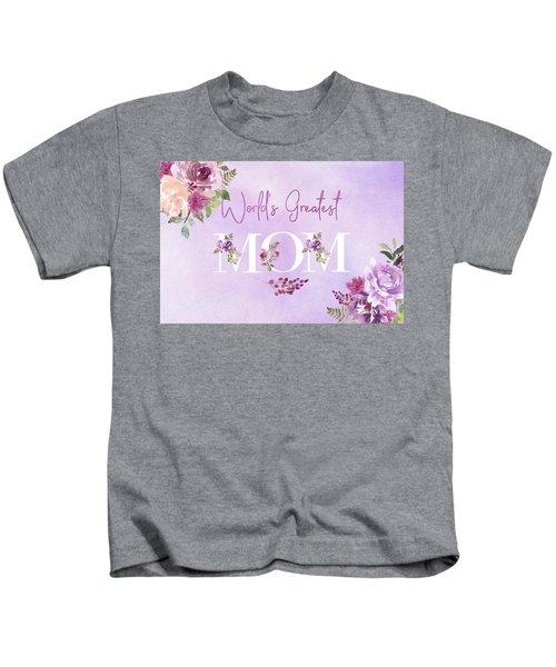 World's Greatest Mom 2 Kids T-Shirt