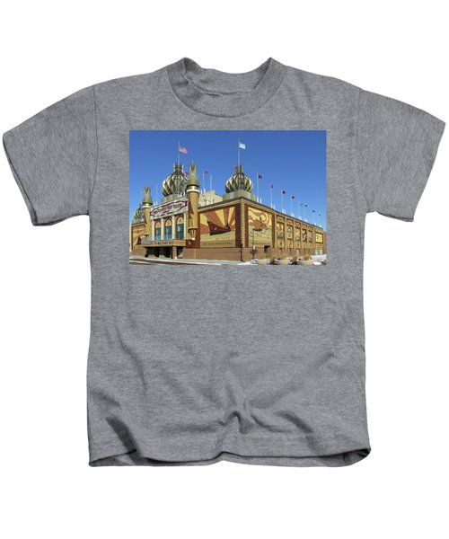Worlds Only Corn Palace 2018-19 Kids T-Shirt
