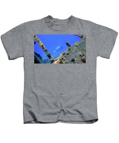 Wreck Framed Kids T-Shirt