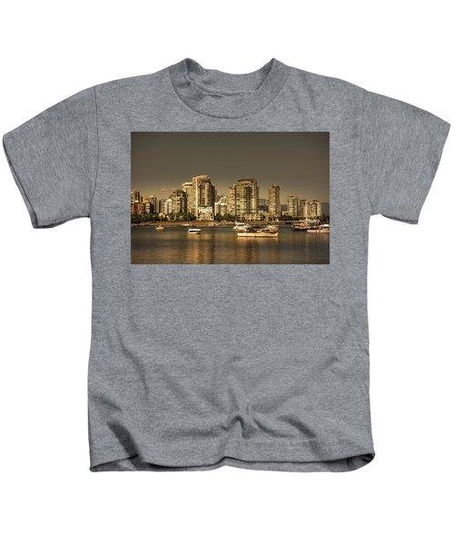 Yaletown Golden Hour Kids T-Shirt