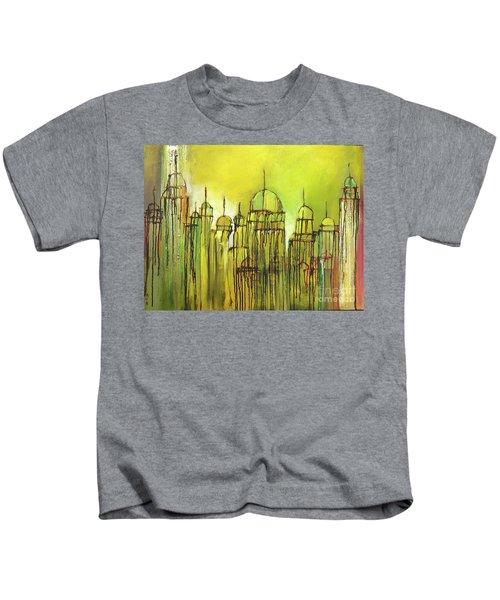 Yellow Mosque  Kids T-Shirt