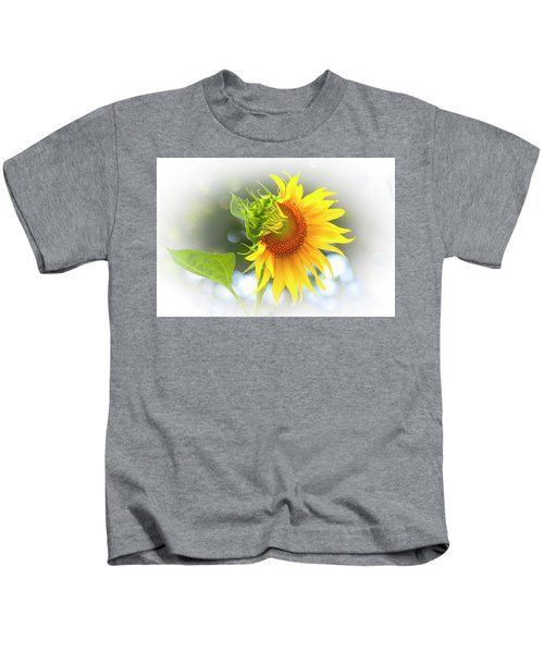 Yellow Petals Of Sunshine Kids T-Shirt