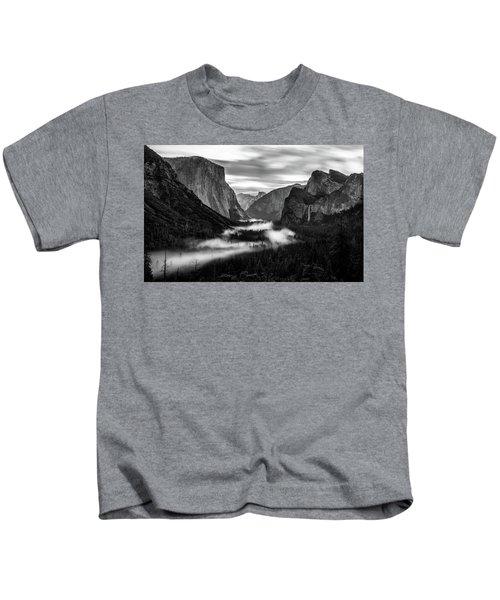 Yosemite Fog 1 Kids T-Shirt