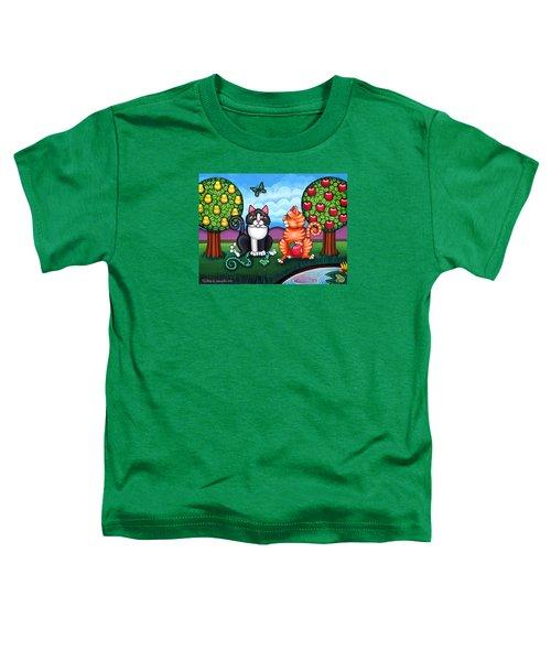 Atom And Eva Toddler T-Shirt