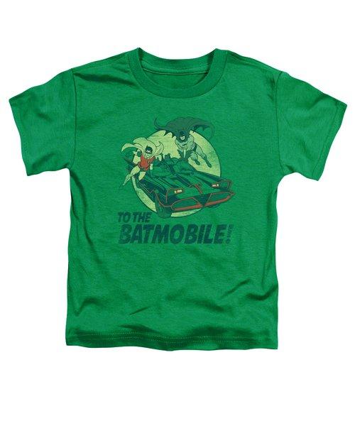 Batman Classic Tv - To The Batmobile Toddler T-Shirt