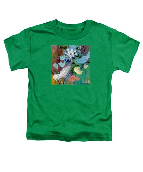 Birds And Berries Toddler T-Shirt