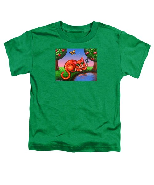 Cat In Reflection Toddler T-Shirt