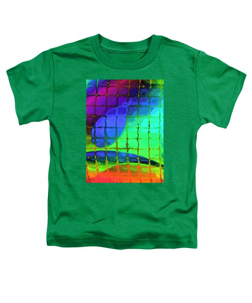 Caught In My Color Net On Venus Toddler T-Shirt