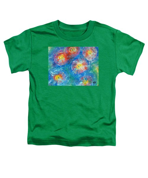 Circle Burst Toddler T-Shirt