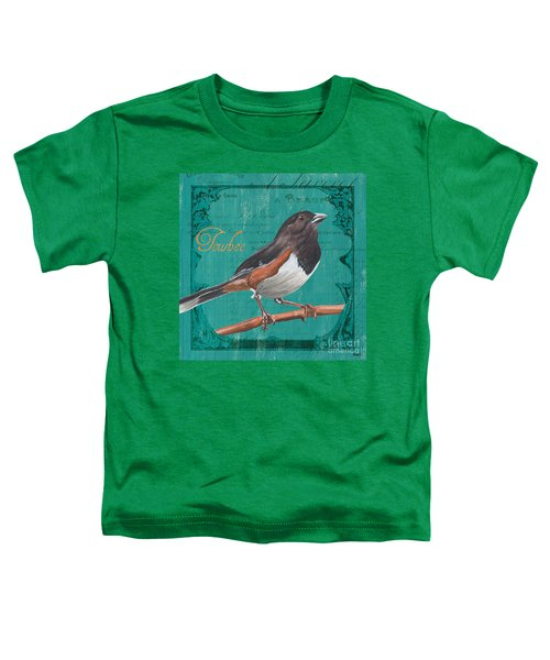 Colorful Songbirds 3 Toddler T-Shirt
