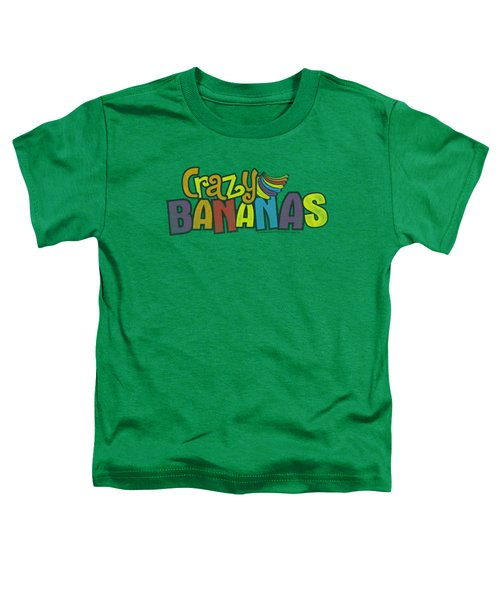Dubble Bubble - Crazy Bananas Toddler T-Shirt by Brand A