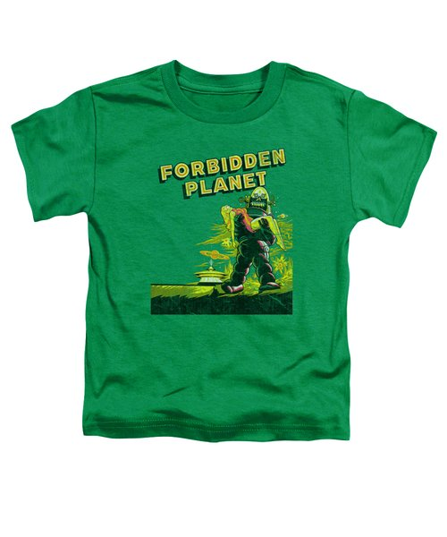 Forbidden Planet - Old Poster Toddler T-Shirt