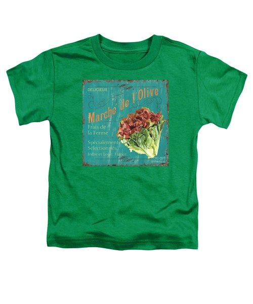 French Market Sign 3 Toddler T-Shirt by Debbie DeWitt