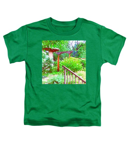 Garden Path With Arbor Toddler T-Shirt