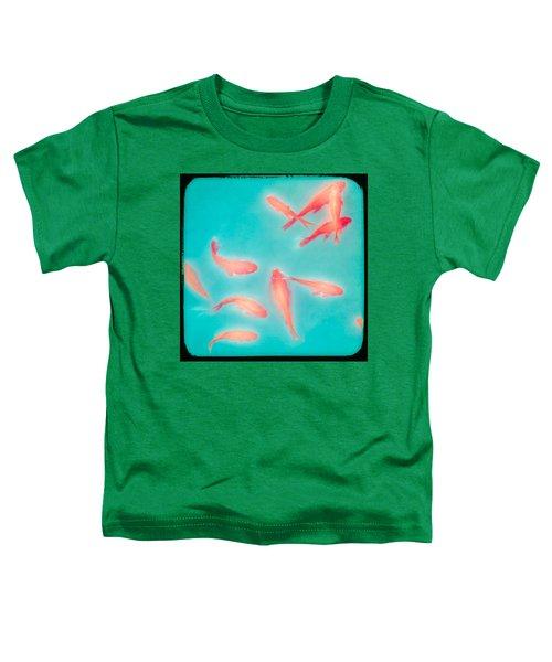 Goldfish - Glowing Fish - Gary Heller Toddler T-Shirt