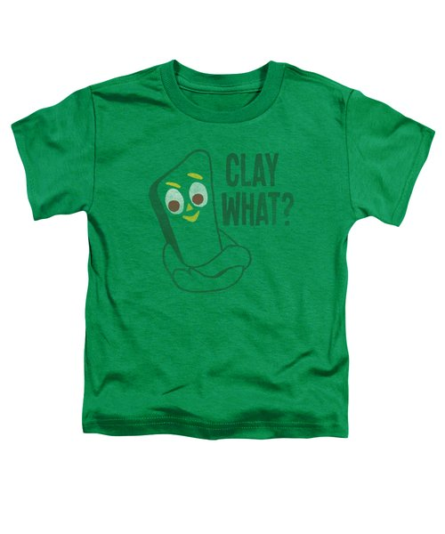 Gumby - Clay What Toddler T-Shirt