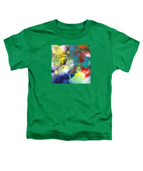 Holding The High Watch Canvas Two Toddler T-Shirt
