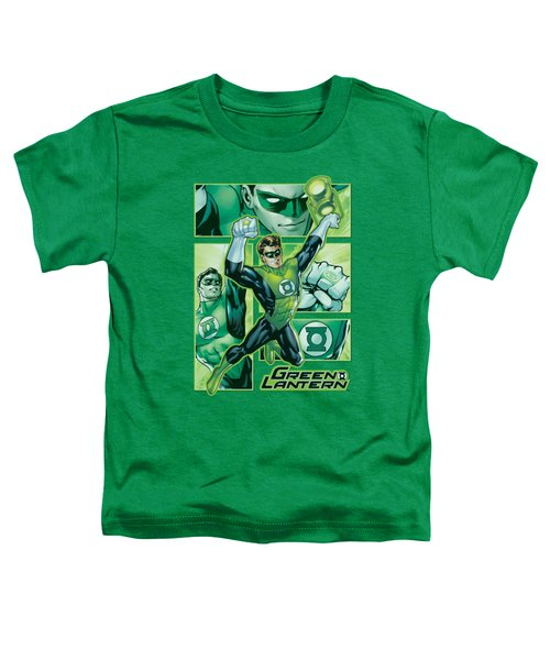 Jla - Green Lantern Panels Toddler T-Shirt