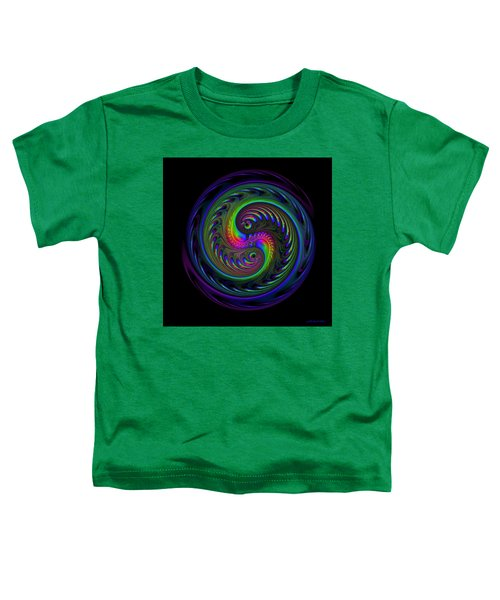 Koi Yin Yang Toddler T-Shirt