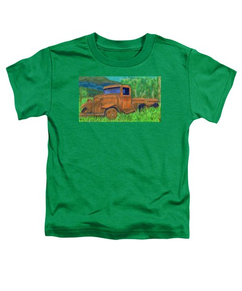 Old Canadian Truck Toddler T-Shirt