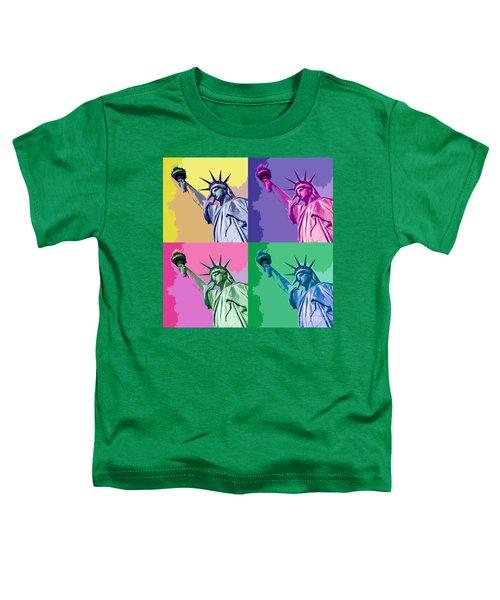 Pop Liberty Toddler T-Shirt