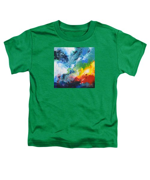 Spark Of Life Canvas Two Toddler T-Shirt