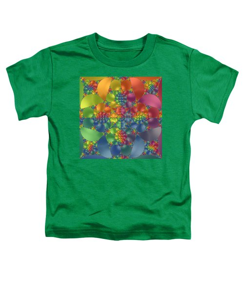Spring Promises Fractal Toddler T-Shirt