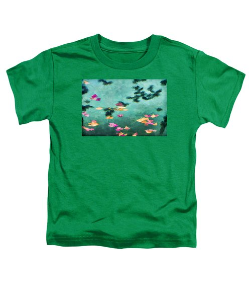 Swirling Leaves And Petals 6 Toddler T-Shirt