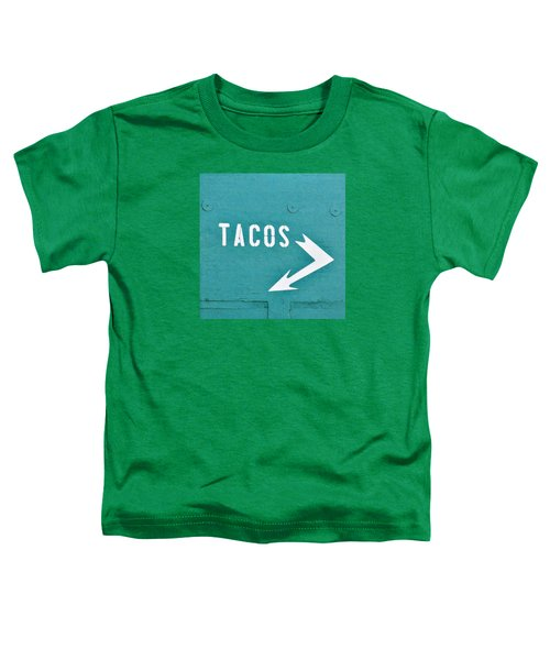 Tacos Toddler T-Shirt by Art Block Collections