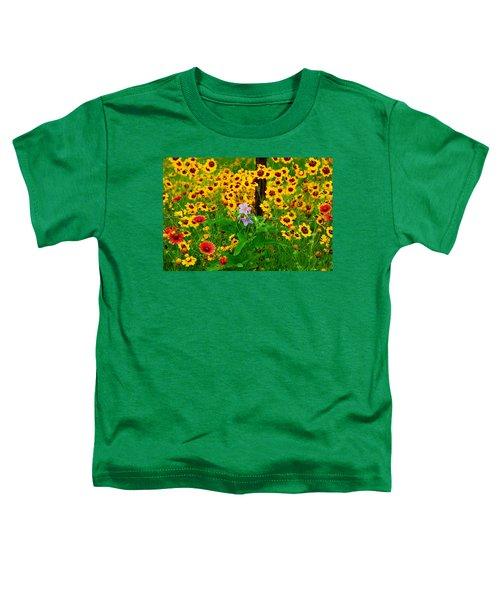 Texas Spring Delight Toddler T-Shirt