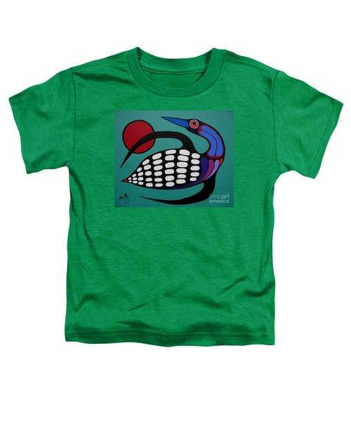 The Majestic Loon Toddler T-Shirt