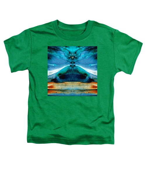 The Time Traveler - Surreal Fantasy Art By Sharon Cummings Toddler T-Shirt