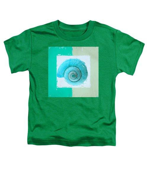 Turquoise Seashells X Toddler T-Shirt