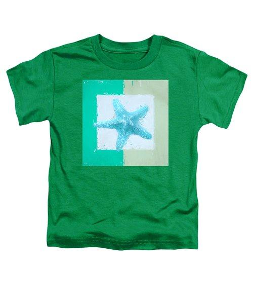 Turquoise Seashells Xiii Toddler T-Shirt