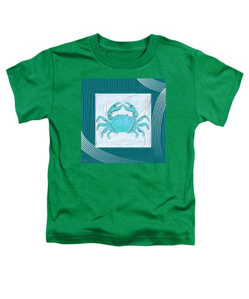 Turquoise Seashells Xix Toddler T-Shirt