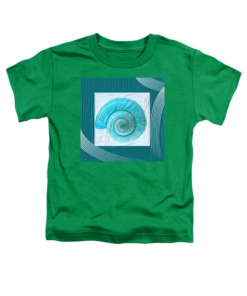 Turquoise Seashells Xvii Toddler T-Shirt