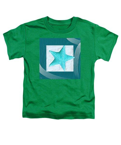 Turquoise Seashells Xviii Toddler T-Shirt