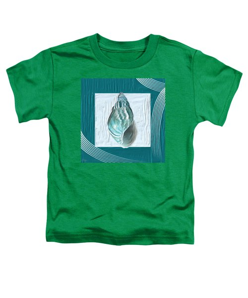 Turquoise Seashells Xx Toddler T-Shirt